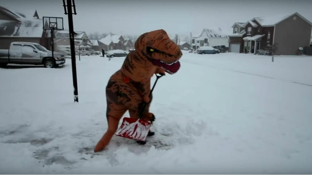 dinosaurio nieve coahuila