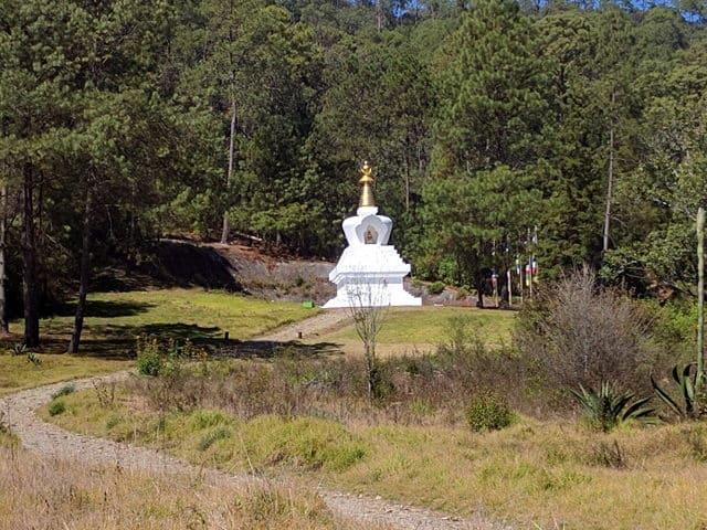 entrada de la Stupa de la paz