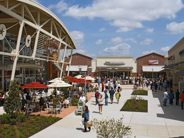 Houston-premium-outlets. Foto: Archivo