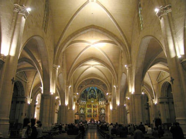 nave principal catedra de valencia
