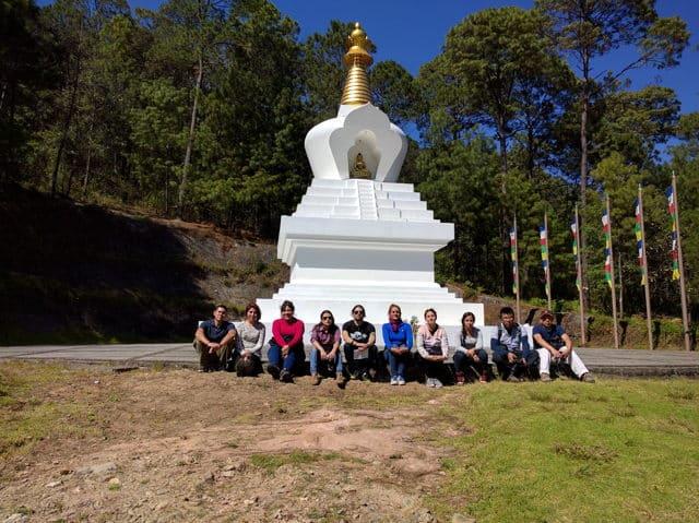 turismo stupa de la paz