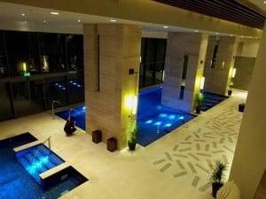 zen spa hyatt panoramica