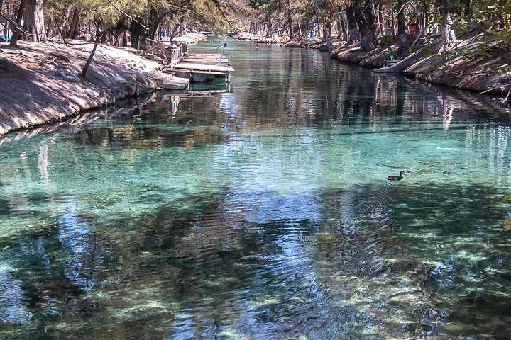 Buceo en la Laguna de la Media Luna