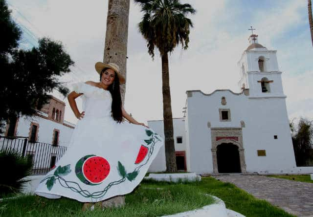 Capilla de Santa Ana de Hornos en Viesca Coahuila