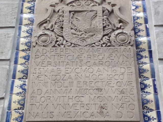 letrero casa de moneda