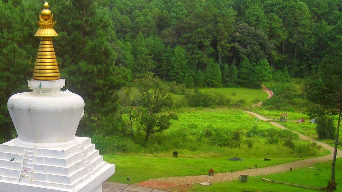 Stupa de la Paz en Valle de Bravo