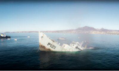 barco rosarito hundimiento