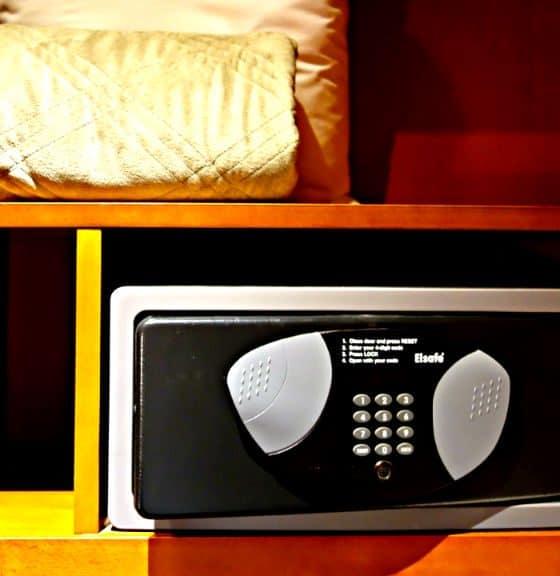 caja de seguridad hotel