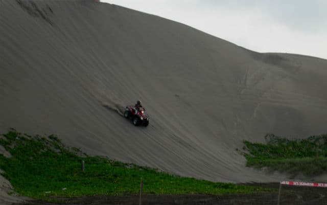 dunas del sabanal paredes arena