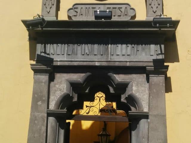 entrada conveto de santa rosa