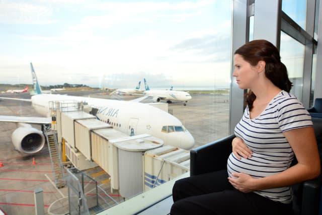 volar embarazada consejos