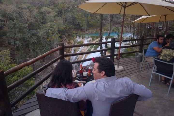 Bar al lado de la cascada El Meco. Foto: Archivo