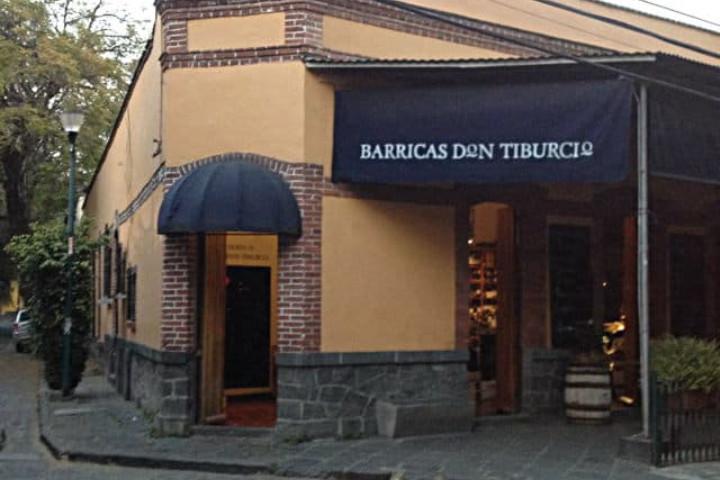 Barricas Don Tiburcio. Foto: Archivo