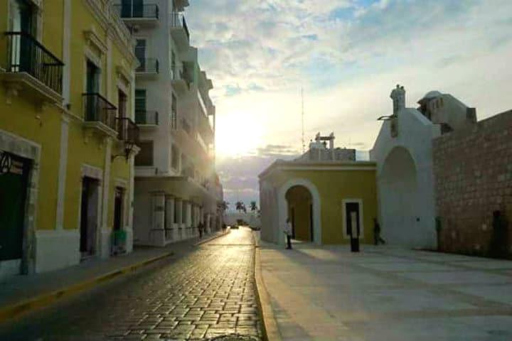 Calles de Campeche. Foto: Archivo