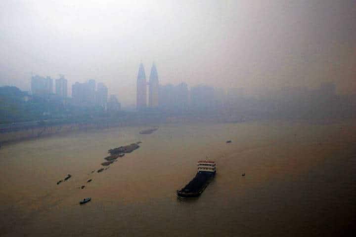 Ciudades más contaminadas del mundo. Chongqing. Foto: Archivo