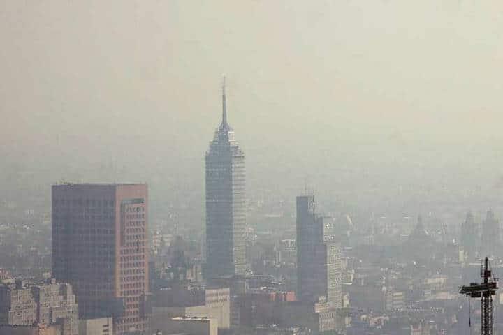 Ciudad de México-contaminación. Foto: Archivo