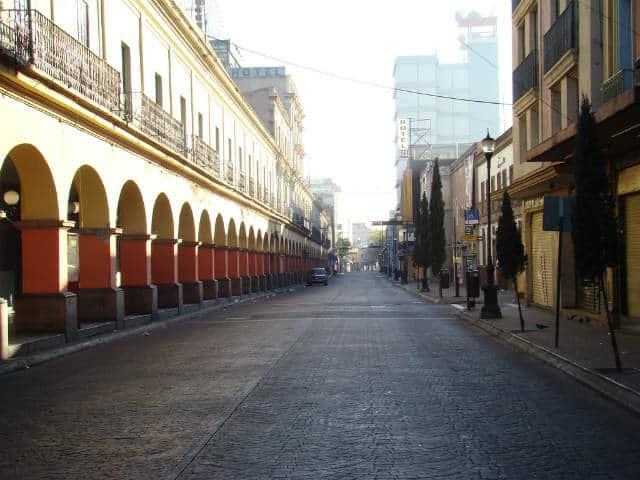 Ciudad de Toluca calles foto Jorge Nava