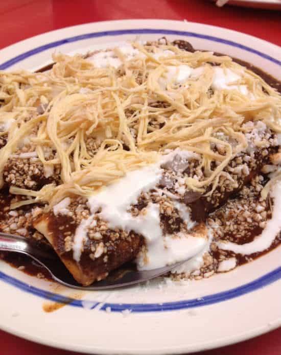 Ciudad de Toluca comida