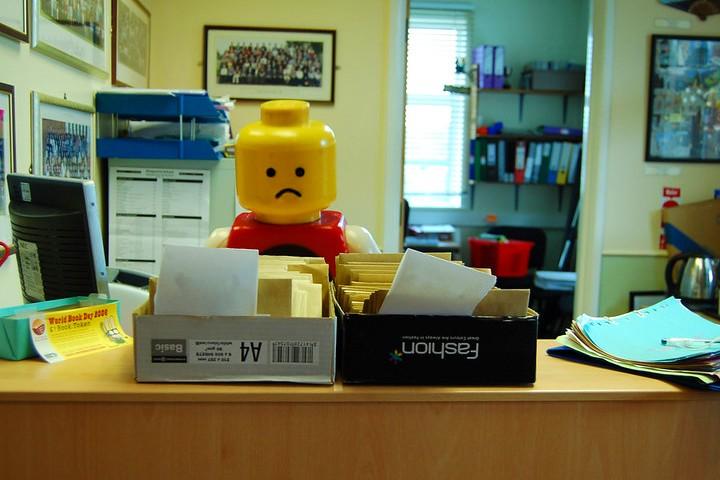 Lego trabajo
