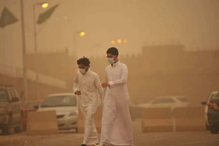 Contaminación en El Cairo. Foto: Archivo