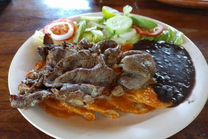 Enchiladas potosinas. Foto: Archivo