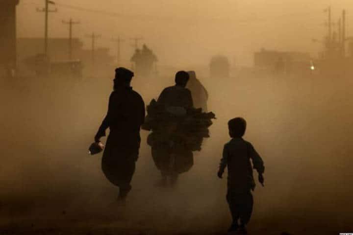 Kabul Afghanistan contaminación. Foto: Archivo