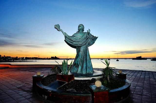 Malecon La Paz Jesus del Caracol Foto Golapaz