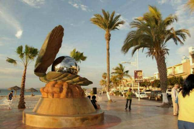 Malecon La Paz Perla Foto GoLaPaz