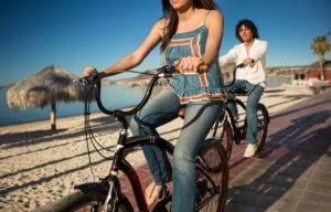 Malecon La Paz en bici Foto GoLaPaz