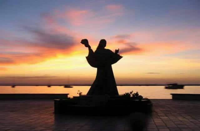 Malecon La Paz jesus del caracol Foto Go La Paz