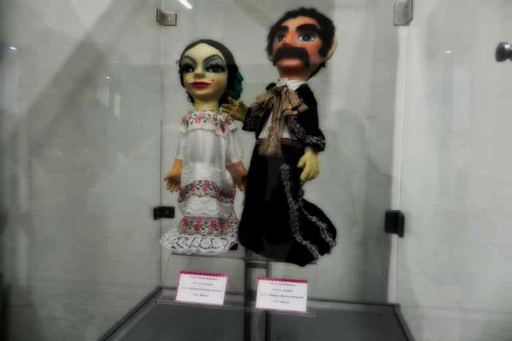Marioneta pareja