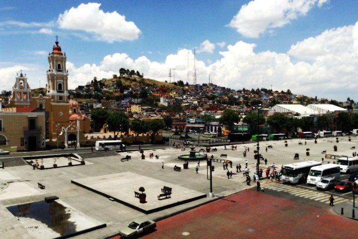 Plaza Ángel María Garibay 1
