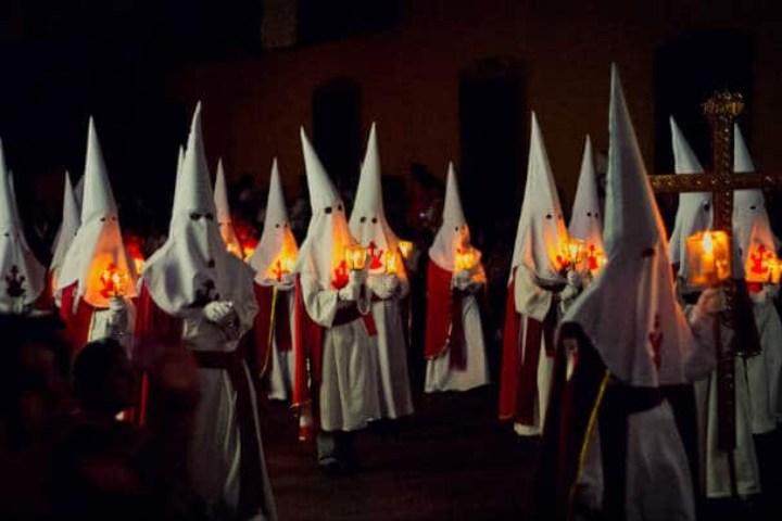 Procesión del silencio. Foto: Ray Uribe