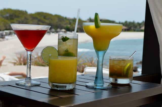 Punta Mita bebidas Four Seasons