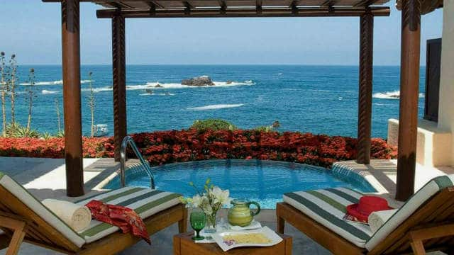 Punta Mita jacuzzi Four Seasons