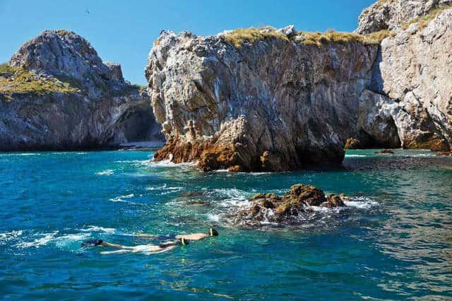 Punta Mita snorkeling Four Seasons
