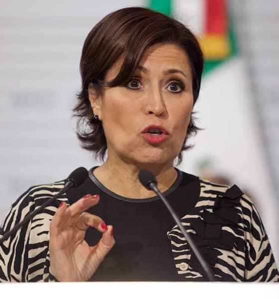 Secretaria Rosario Robles. Foto: Archivo