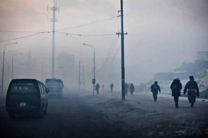 Ciudades más contaminadas del mundo. Ulán Bator. Foto: Archivo