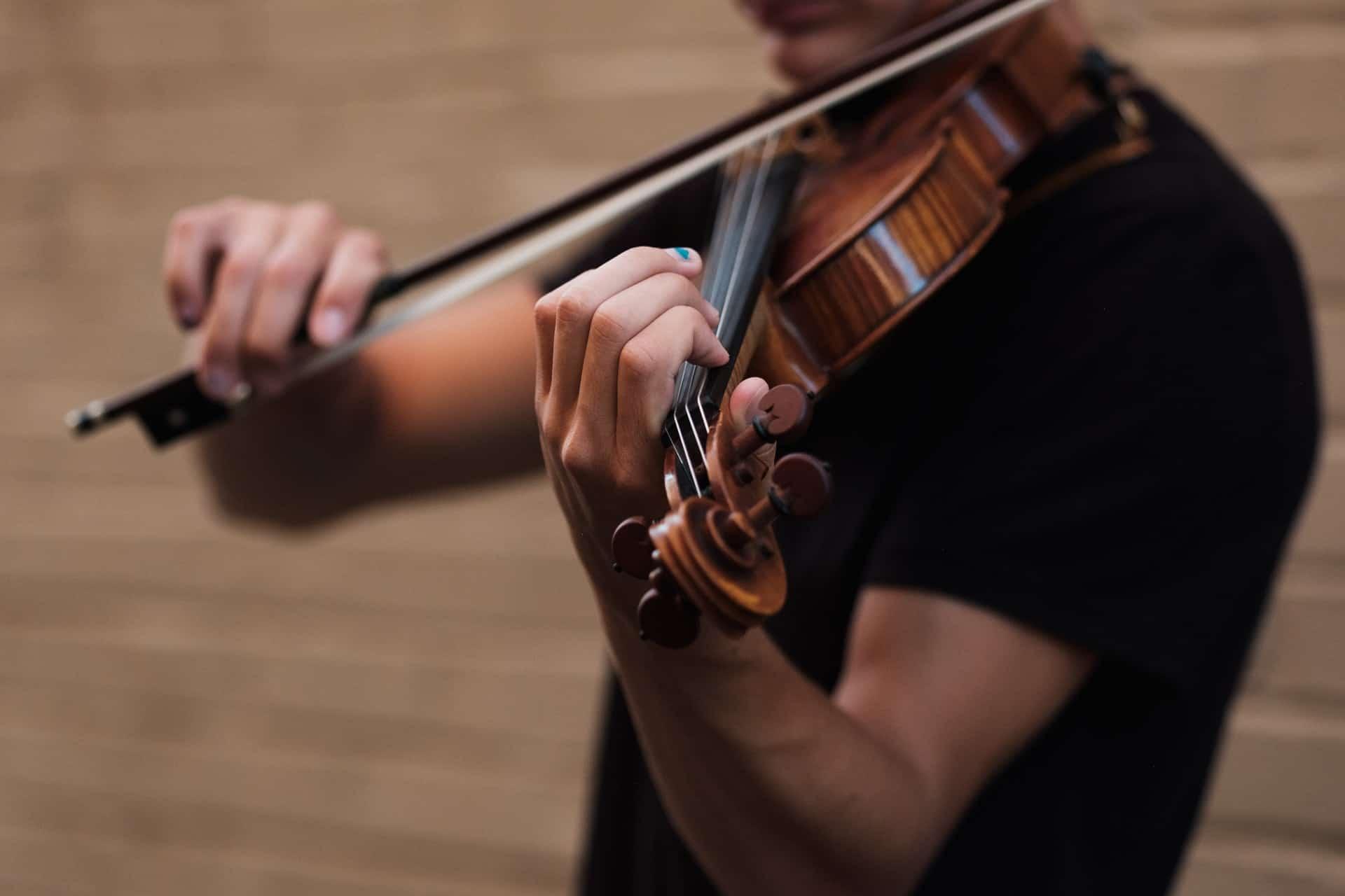 Violín. Foto. Joel Wyncott