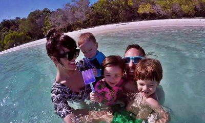 Australia con la familia