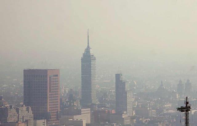 ciudad de mexico contaminación