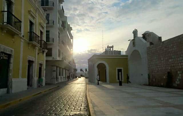 el bastion campeche calles