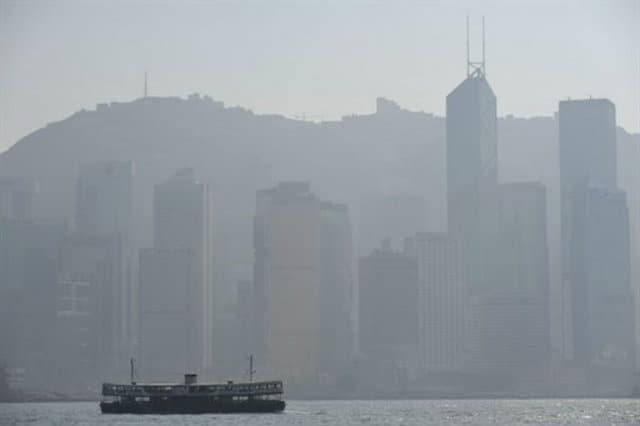 hongkong contaminación
