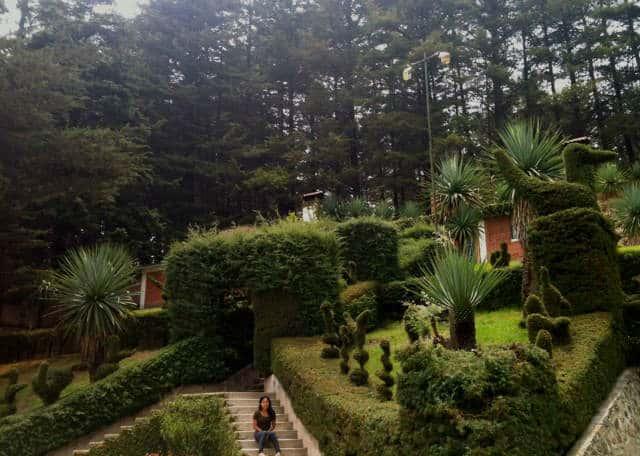 los azufres erendira jardines