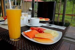 los azufres quinta los azufres desayuno