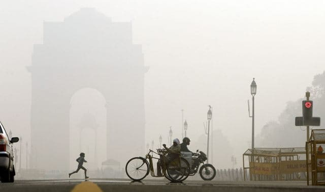 nueva delhi contaminacion