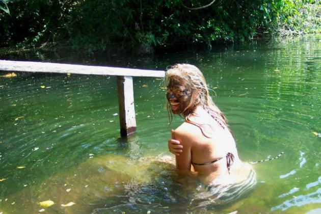 Nanciyaga barro agua