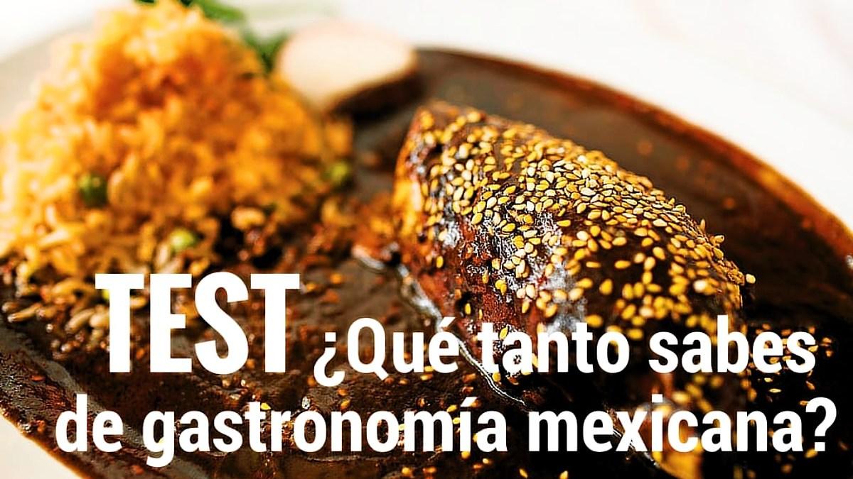 Test gastronomía mexicana portada