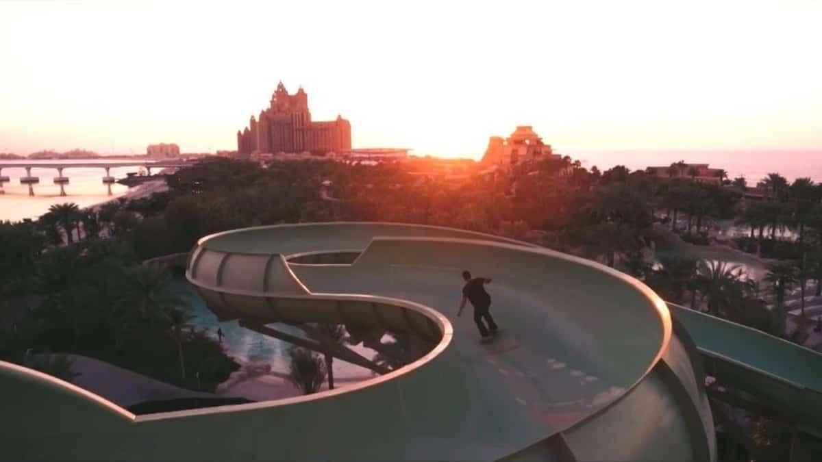 Vídeo skateboarding. Portada skateboarding