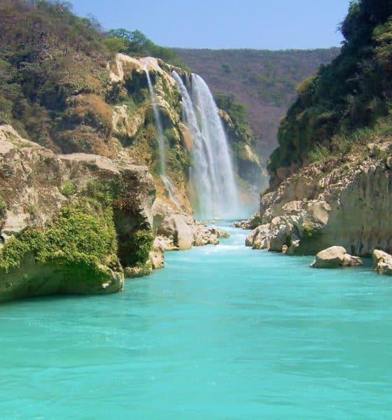 Cascada De Tamul En La Huasteca Potosina Un Milagro De La Naturaleza